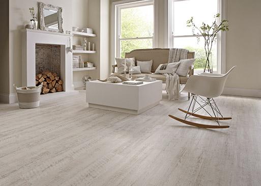 Karndean LVT White Painted Oak
