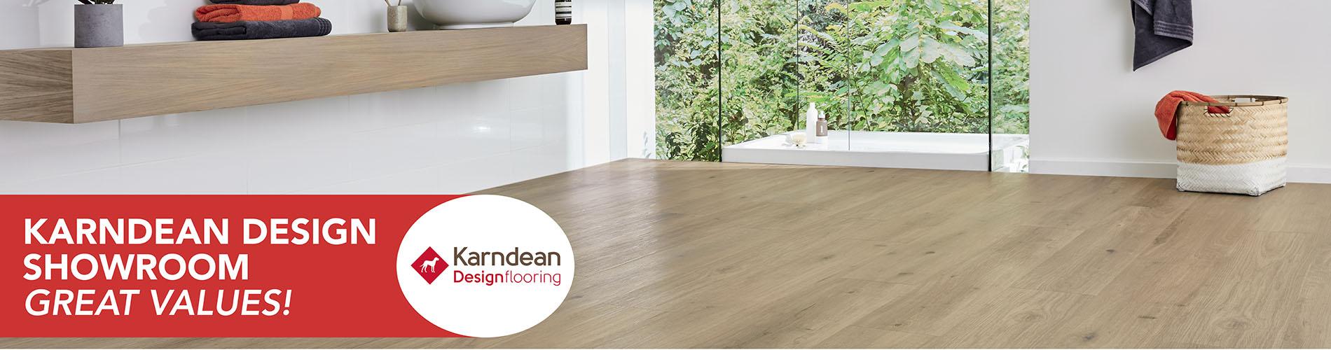 Karndean Design Showroom flooring at Castle Floors in Mesa AZ. Great values!